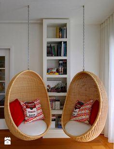 Wiszące fotele dla całej rodziny. - zdjęcie od KiddyFave.com