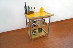 Giallo bar cart - www.cazzacriativa.com