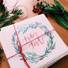 Die 70 Besten Bilder Von Weihnachtskarten Inspiration Und Selber