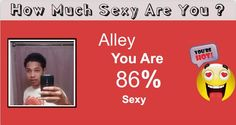 Check my results of How much sexy you are Facebook Fun App by clicking Visit Site button