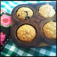 CanCan: Vegan Banana Blueberry Lactation Muffins