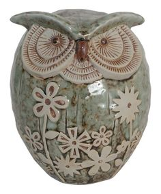 Take a look at this Ceramic Owl by Noteworthy Home Collection on #zulily today!