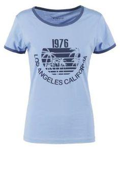 Twintip Camiseta Print Blue camisetas y blusas Twintip print camiseta Blue Noe.Moda