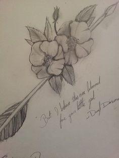 For Sophia, Carol, and Daryl Dixon Cherokee Rose (The Walking Dead) Cherokee Indian Tattoos, Native American Tattoos, Native American Cherokee, American Indians, Tattoos For Women Half Sleeve, Half Sleeve Tattoos Designs, Walking Dead Drawings, The Walking Dead Tattoos, Body Art Tattoos