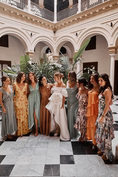 These are the top 2020 wedding trends, according to the experts - 100 Layer Cake Patterned Bridesmaid Dresses, Mismatched Bridesmaid Dresses, Wedding Bridesmaid Dresses, Destination Bridesmaid Dresses, Wedding Attire, Wedding Looks, Boho Wedding, Dream Wedding, Vogue Wedding