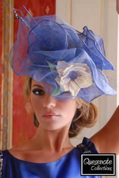 Quesenote Collections #millinery #judithm #hats sinamay