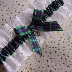 rose scottish national tartan wedding garter with white lace and crystal Scottish Wedding Dresses, Scottish Wedding Traditions, Tartan Wedding, Scottish Weddings, Celtic Wedding, Irish Wedding, Green Wedding, Diy Wedding, Wedding Ideas