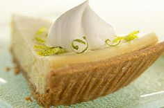 3-step key lime cheesecake. I made a few of these this summer and they were fabulous! Make mini pies with pre-made graham cracker tart crusts and everyone can have their own personal pie!
