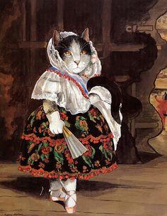 Susan Herbert Lola de Valence Manet by HeatherwoodArtPrints, $10.50