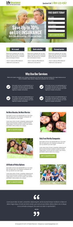 life insurance landing page designs to capture leads online   landing page designs