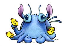 Stitch by MegLyman.deviantart.com on @deviantART