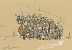 SKETCHING THE PLACE: WITH USK-LUXEMBOURG AT THE MUDAM