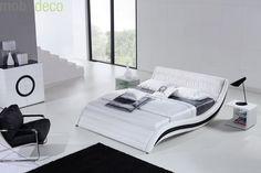 Cedric este patul viitorului. Formele sale arcuite si avangardiste, paleta cromatica atractiva si confortul neasteptat oferit de impletirea liniilor curbate cu materialele de calitate definesc o piesa de mobilier unica: http://despreacasa.ro/pat-tapitat-cedric/