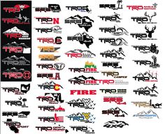 Spieler's Steekerz (vinyl decals, design, etc) Click this image to show the full-size version. Autos Toyota, Toyota 4runner Trd, Toyota Trucks, 2016 Toyota Tundra Crewmax, Toyota Tacoma Sport, Toyota Tacoma Access Cab, 2016 Tacoma, Truck Stickers, Car Decals