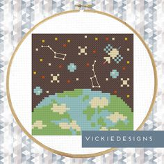 Hey, I found this really awesome Etsy listing at https://www.etsy.com/ru/listing/201643140/earth-satellite-space-modern-cross