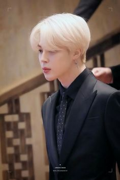 Plz bring back blond Jimin Taehyung, Namjoon, Hoseok, Bts Boys, Bts Bangtan Boy, Mochi, Park Ji Min, Foto Bts, Jikook