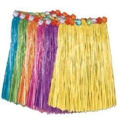 Kids Hula Skirt. Perfect for a Moana or Hawaiian Luau party