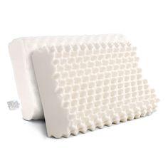 Kimber Natural Latex Pillows Set of 2 - Online Only - White - Matt Blatt Latex Pillow, Silk Pillow, Pillow Set, Foam Pillows, Bed Pillows, Egg Crates, Comfort Mattress, Natural Latex, Dust Mites