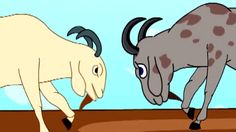Two Wise Goats - Kids English Animation - Moral Story