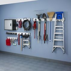 Is your garage a haven or a horror? Too often, we just shut the door and forget it when we walk into the house. But it's so much easier to keep a garage organized if there are places to put things away. Our garages are full of tools, sports equipment, gardening and lawn paraphernalia, and hopefully, the family car. Start your garage organization by utilizing every surface— floor, wall, and ceiling space. Shelves, racks, and cabinets can help you efficiently use wall space. Pulley systems can…