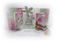 Producten Elizabeth Craft Designs Schut Aquarel Papier Distress Inkt Poeders Stampendous & Ranger Stempels Wild Rose Studio & Stampendous