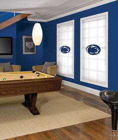 Penn State Nittany Lions Roller Shade. Several College Team Shades Offered!