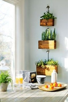 Bring the Outdoors in. Whether it's Greenery from your front yard (or even your neighbors he he), Succulents, Indoor plants, Herbs, dried/Natural wreaths, twigs.. use it! It really adds a lot of warmth & character to a room and it can even improve the air quality in your home!