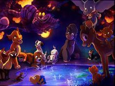 Walt Disney Characters Fan Art: Walt Disney Fan Art - The Gathering of Disney Disney Magic, Disney Pixar, Disney Amor, Walt Disney Characters, Disney Fan Art, Disney Dream, Disney And Dreamworks, Disney Animation, Disney Love