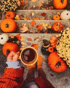 Pumpkins in many cases are beautiful circular, brilliant lemon, and in autumn they must not be missing particularly on Halloween. Fall Pictures, Fall Photos, Fall Pics, Halloween Pictures, Autumn Cozy, Fall Winter, Autumn Feeling, Autumn Coffee, Autumn Aesthetic