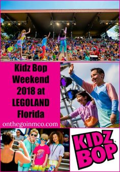 Kidz Bop Weekend at LEGOLAND Florida