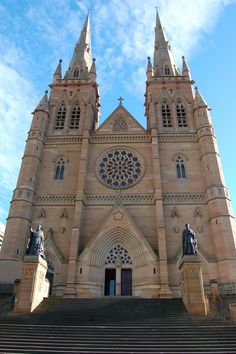 This is a Cathedral in Australia... Daniel traveled there with the MBA program over Spring break. I love how churches are built and the tradition of being the central location of old towns.