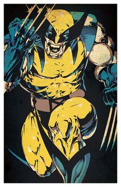 Items similar to Wolverine Poster – wall decor 11 x 17 on Etsy Marvel Wolverine, Wolverine Poster, Comics Spiderman, Hq Marvel, Marvel Comics Superheroes, Thanos Marvel, Marvel Heroes, Logan Wolverine, Comic Books Art