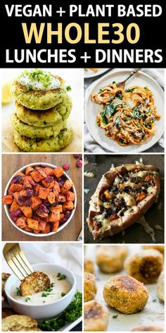 vegetarian whole 30 recipes ; vegetarisch ganze 30 rezepte vegetarian whole 30 recipes ; Coffee Whole 30 recipes. Egg Roll In A Bowl Whole 30 recipes. Appetizers Whole 30 recipes Whole 30 Vegetarian, Whole 30 Vegan, Whole Foods Vegan, Whole 30 Lunch, Whole Food Recipes, Healthy Recipes, Vegan Vegetarian, Paleo Vegan Recipes Dinner, Meatless Whole 30 Recipes