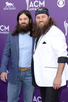 Duck Dynasty brothers Willie and Jep