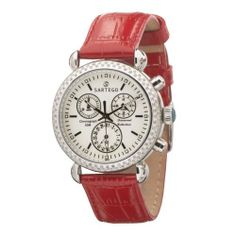 Sartego Women's SDWT181R Diamond Collection Swiss Quartz Movement Watch Sartego. $348.25. Date sub-dial; 30 minute chronograph. Water-resistant to 165 feet (50 M). 108 diamonds gracefully set on bezel. Case diameter: 35.22 mm. Luminous hands and markers. Save 65% Off!
