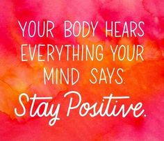 Looking for motivation to push you through? Our fitness quotes and healthy living quotes are here for you to save and share with your friends. The Words, Stay Positive Quotes, Positive Vibes, Positive Attitude, Body Positive, Positive Words, Positive Mindset, Citations Yoga, Quotes To Live By