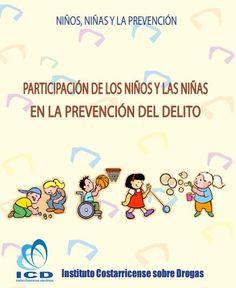 Participación de los niños y niñas en la prevención del delito (Folleto)