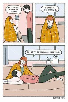 Relationship goals.  Source: Sundae Kids