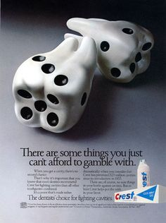 Don't Roll The #Dice Where Your #Teeth Are Concerned!