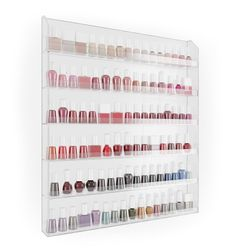 Home-it Nail Polish Rack Nail Polish Organizer Holds up to 102 Bottles Home-it http://www.amazon.com/dp/B00GBC0JVG/ref=cm_sw_r_pi_dp_oV2Cwb0MK62TH