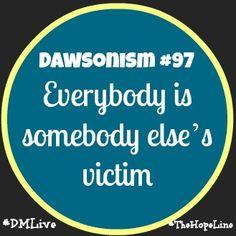 Dawsonism #97