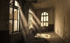 Image result for room with old wallpaper
