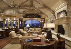 One of my favorite Mountain Homes published in Tuscan Style Magazine