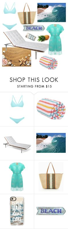 """Beach Baby"" by amartin10 ❤ liked on Polyvore featuring Bower, Skargaarden, M&Co, ALDO and Casetify"
