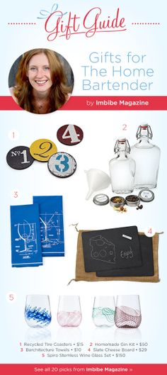 Gifts for the Home Bartender by Imbibe Magazine