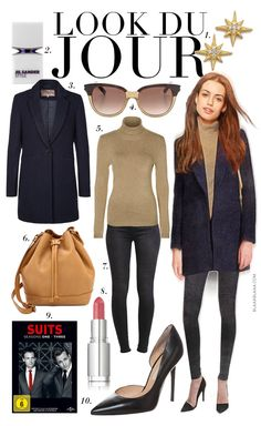 Paris Outfits, Komplette Outfits, Polyvore Outfits, Casual Chic, Smart Casual Work, Work Fashion, I Love Fashion, Autumn Fashion, Black Boots Outfit