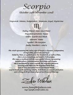 Zodiac Witch Series by Jennifer Galasso