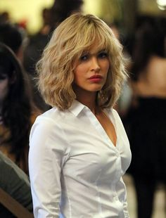 70 Blonde Hairstyles: Long, Short, Medium - New Hair Styles 2018 Medium Hair Styles, Curly Hair Styles, Megan Fox Photos, Bob Hair Color, Blonde Pixie, My Hairstyle, Hairstyle Ideas, Layered Hair, Great Hair