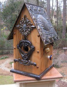 birdhouse roof design