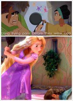 Heheheh The People Watching It For Second Time Were Laughing Madly When Eugene Was Telling Rapunzel They Would Part Ways As Unlikely Friends